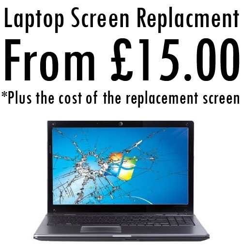 laptop screen repair Hadleigh Suffolk